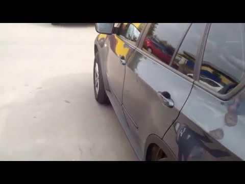 Установка автомобильного доводчика дверей SLAMSTOP(СламСтоп) BMW X5 в СПб.