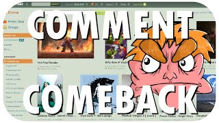 Comment Comeback: I HATE deviantART (edited re-upload) thumbnail