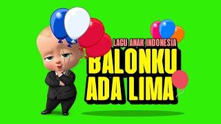 BALONKU ADA LIMA - LAGU ANAK INDONESIA ( VERSI THE BOSS BABY )