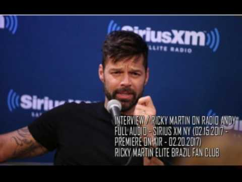 [FULL AUDIO INTERVIEW] Ricky Martin on Radio Andy | Sirius X