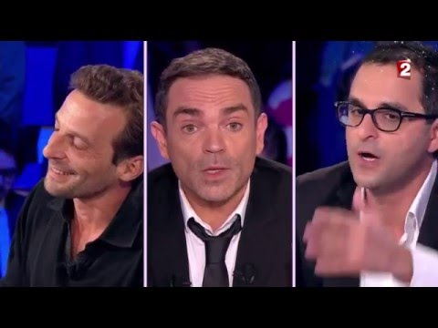 Yann Moix  Mathieu Kassovitz et Arash Derambarsh  On n'est pas couché 12 novembre 2015