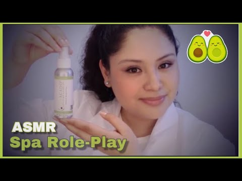 ASMR | Skincare Therapist Role Play | Lovacado Oil Beauty Product Review 🌷