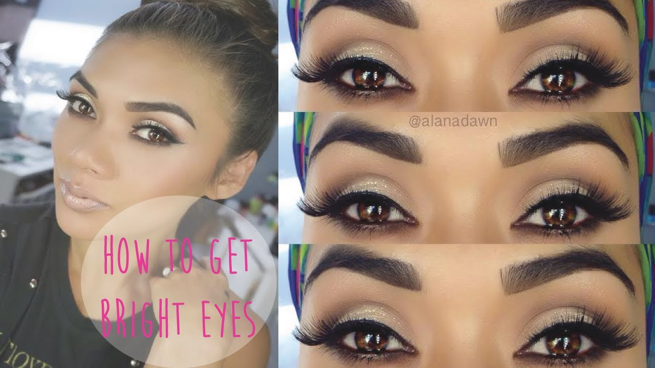 Bright Eyes Makeup Tutorial Youtube