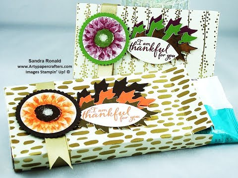 #19 Gorgeous Gift Box for Travel Wipes - SandraR Stampin' Up! Demonstrator Independent