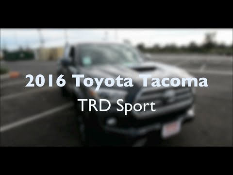 2016 Toyota Tacoma TRD Sport: Interior Review