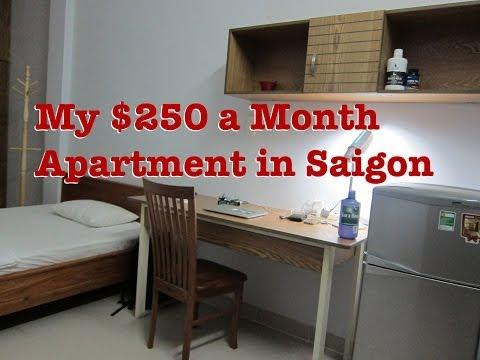 My New $250 Apartment In Saigon, Ho Chi Minh City, Vietnam