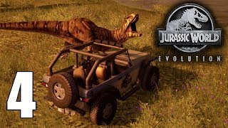 Serving Up Dinner! - Jurassic World Evolution Gameplay - Part 4 - Ilsa Muerta