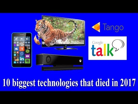 10 biggest technologies that died in 2017 | 10 lost technologies By Amazing Techno Tutorials