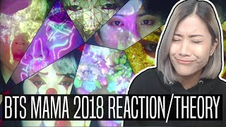 BTS (방탄소년단) MAMA 2018 REACTION & THEORY | Fake Love + Anpanman (Japan)