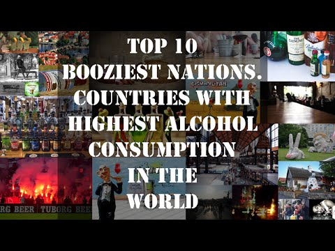 Top 10 Booziest Nations | Countries with Highest Alcohol Consumption | Under The Dark Sky