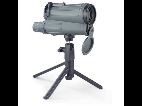 Yukon 20-50 x 50 mm Spotting Scope with rubber-armor TOUGH.