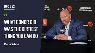 Dana White reacts to latest Conor McGregor tweets