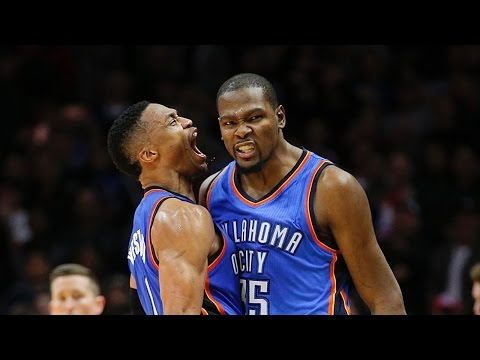 Russell Westbrook and Kevin Durant Best Moments - Alley-Oops and Rap Battles