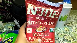 Kettle Brand Maple Bacon Potato Chips Review