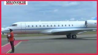 VIDEO: Botswana President Mokgweetsi Masisi leaves Tanzania