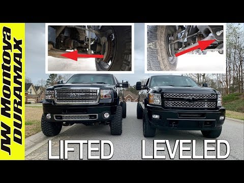 Here's why LEVELING KITS are BAD!!!