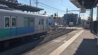 西武新宿線 新狭山駅 鉄道動画