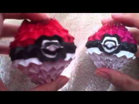 Origami Magic Pokeballs
