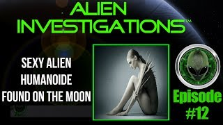 Alien Humanoid Found Moon