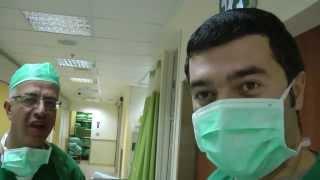 Как делают операции в Израиле,видео фильм о лор хирургии