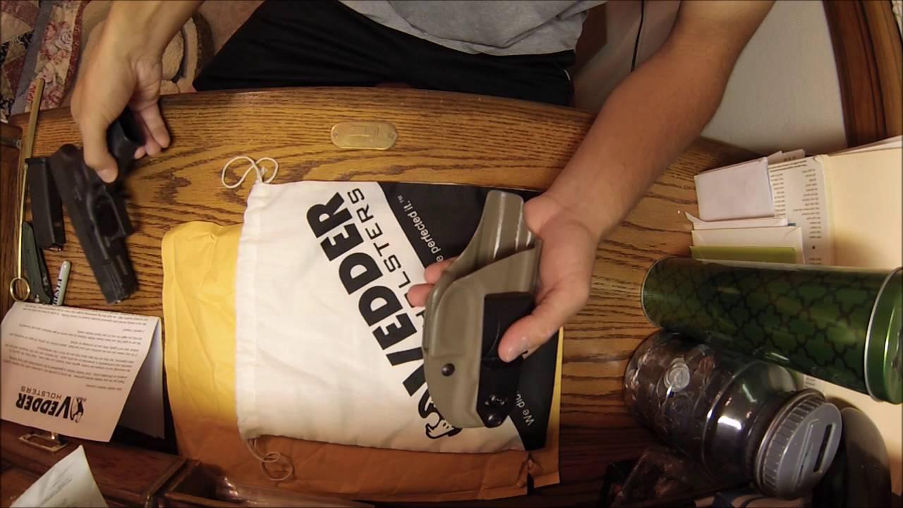 Vedder Holsters: IWB Glock 19 Kydex