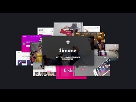 Free Joomla Templates - Simone - Gantry 5 Template
