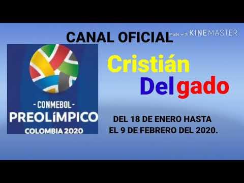 ⚽Bumper Del Canal Oficial Del Torneo Conmebol Preolímpico Colombia 2020 Del Canal Cristian Delgado⚽