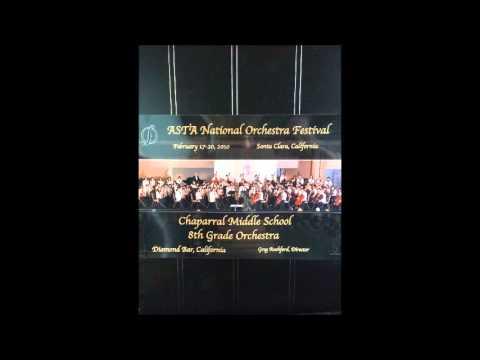 Fantasia for Strings, Elliot A. Del Borgo, Chaparral Middle School