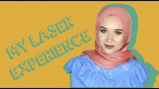 MY LASER HAIR REMOVAL EXPERIENCE with @rejuva.laser | NABIILABEE
