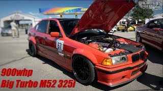 900whp BMW 325i Sedan Is A Roll Racing Monster