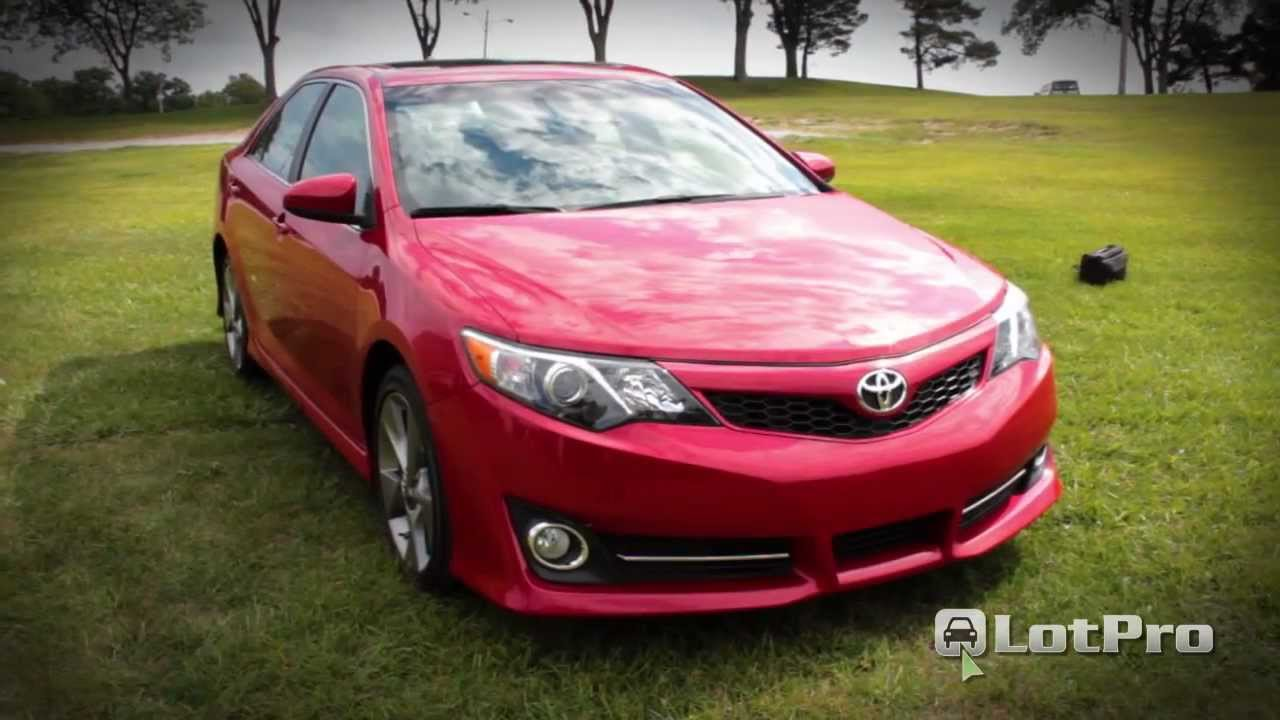 lotpro new car reviews 2012 toyota camry se youtube. Black Bedroom Furniture Sets. Home Design Ideas