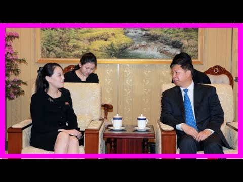 N.K. leader's sister meets with Chinese art troupe visiting Pyongyang