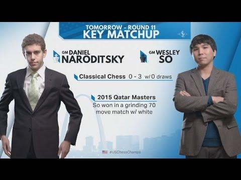 So So Strategic versus Daniel Naroditsky Bails out - Rd11 US Chess Championship 2017