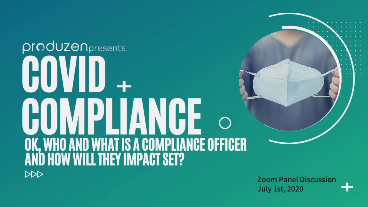 "Download Produzen Panel ""Covid Compliance: Who/What is a Compliance Officer and How Will They Impact Set?"" 05"