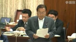 2013/05/16 参議院 総務委員会 民主党 加賀谷健の付帯決議案説明