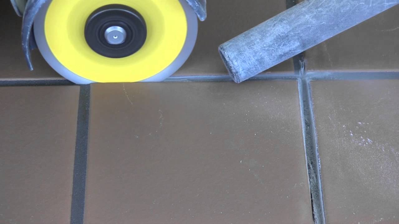 how to clean epoxy grout