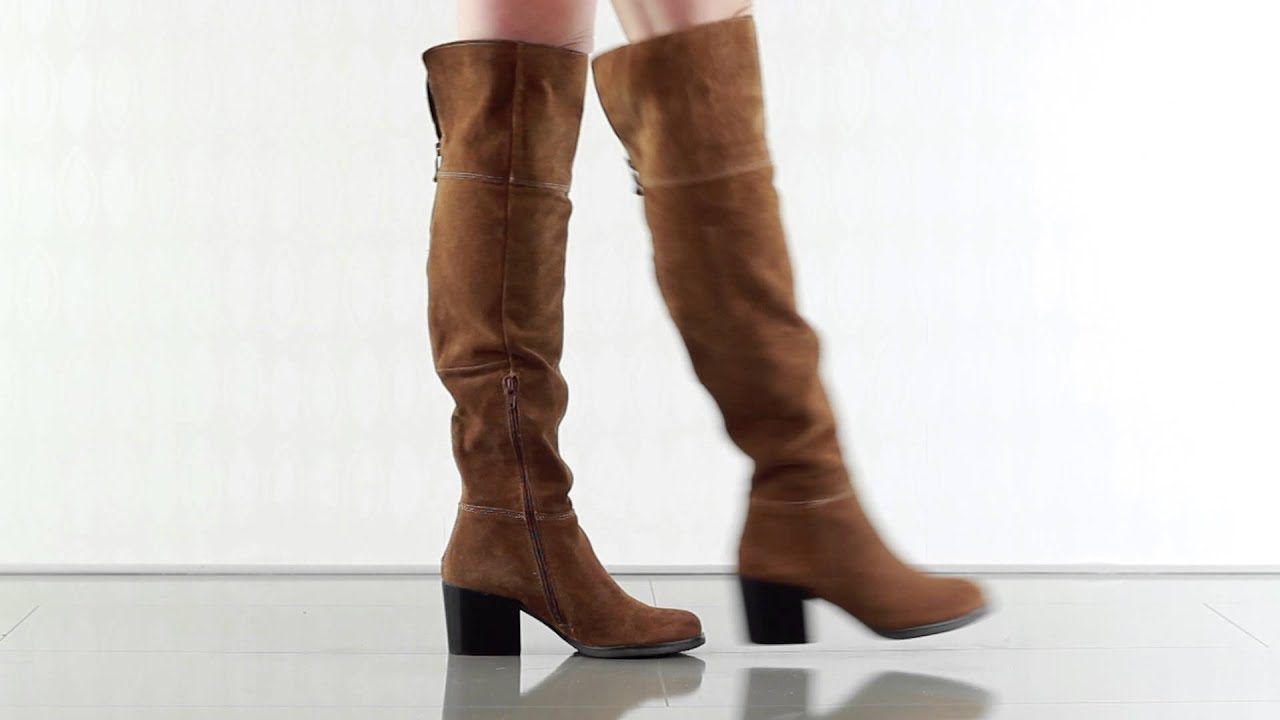 2e2c9bbd6fb Orabela in Chestnut Suede Steve Madden - YouTube