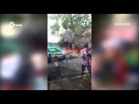 Pusat Snuker, Pasar Raya Di Pekan Kuala Nerang Kedah Musnah Dalam Kebakaran