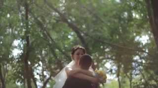 """невеста поет """"Ты мое счастье"""""""