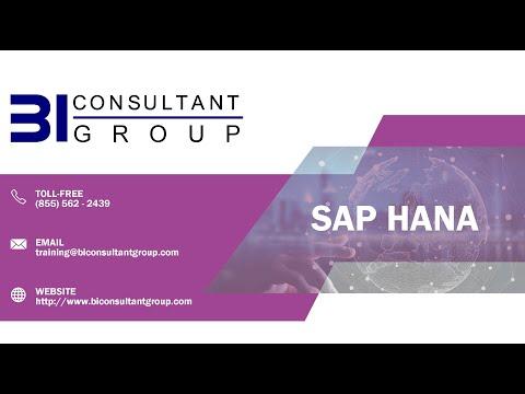 SAP HANA Implementation Project