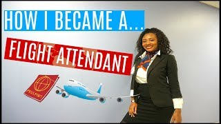 HOW I BECAME A FLIGHT ATTENDANT??!   LIFE WITH ASHLEY