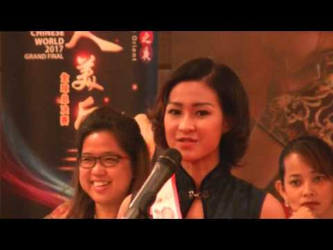 B Camera, Miss Chinese World 2017 Grand Final Press Conference, FULL VIDEO