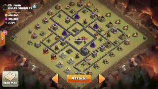 Clash Of Clans - Bad Attack TH9 WAR! [ Friendly War ]