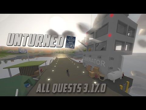 UNTURNED ALL QUEST COMPLETION (Lets Play Part 1)