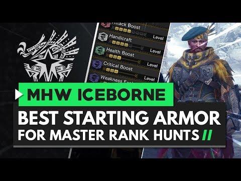 Monster Hunter World Iceborne | Best Starting Armor for Master Rank