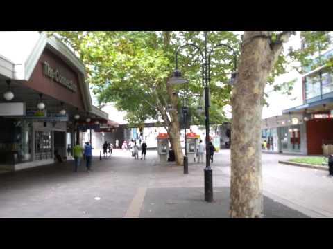 Parramatta City Square Walking, Sydney NSW Australia
