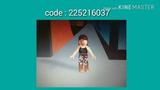 9 roblox codes for girl #3