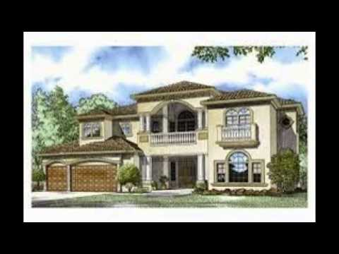 5 Bedroom House Plans - YouTube