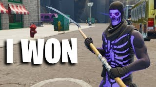 Il BET son compte ORIGINAL Skull Trooper et.. (Fortnite)