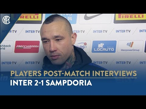 INTER 2-1 SAMPDORIA | RADJA NAINGGOLAN INTERVIEW: 'It's a win that shows our unity'